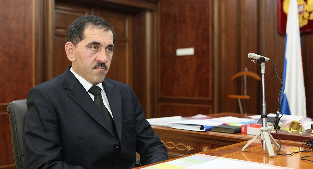 Le président d'Ingouchie Iounous-Bek Evkourov