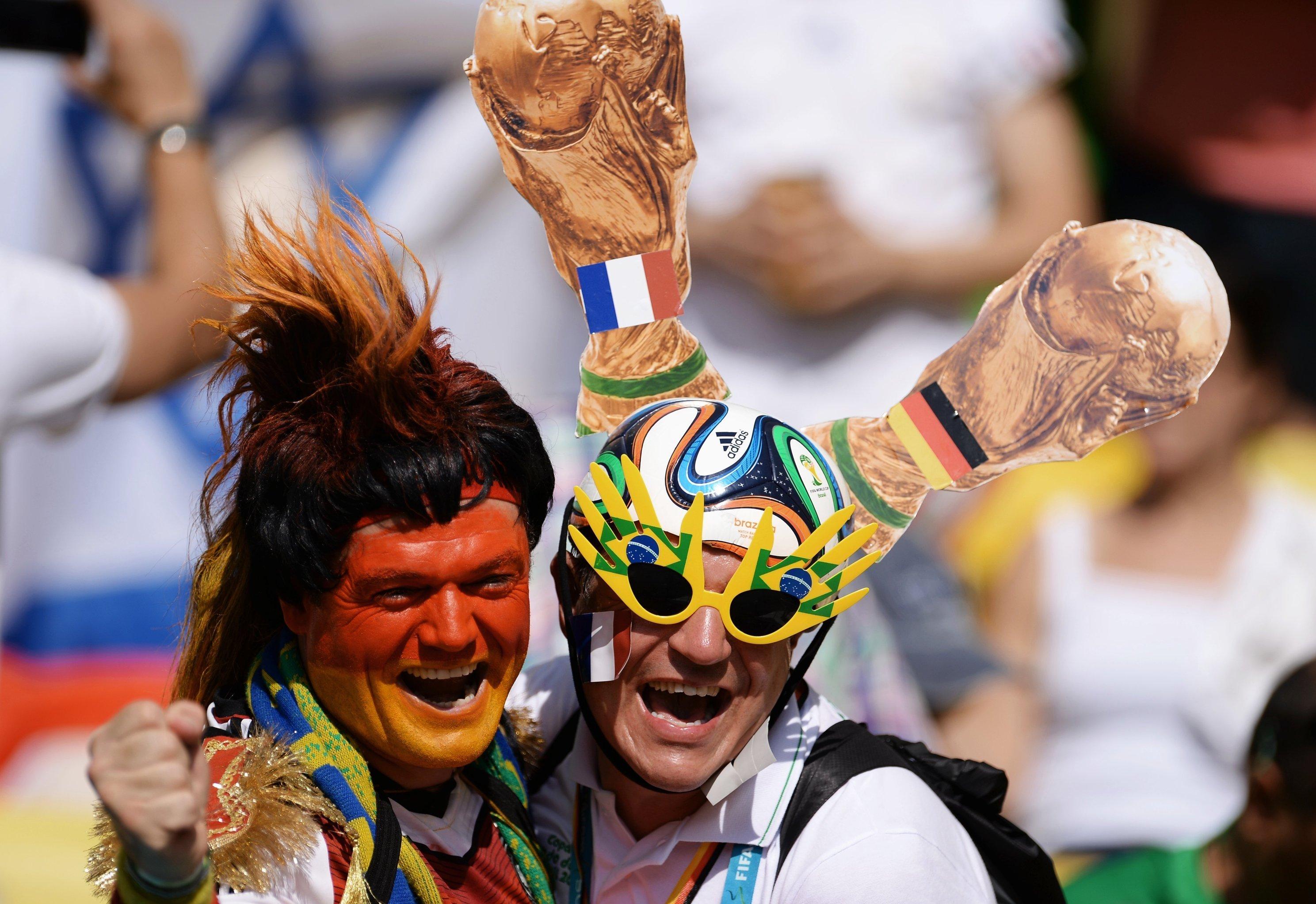 Mondial 2014, match France-Allemagne