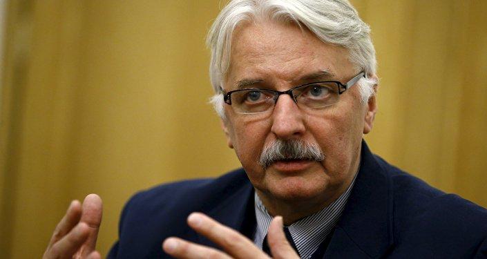 Witold Waszczykowski, le ministre polonais des Affaires étrangères