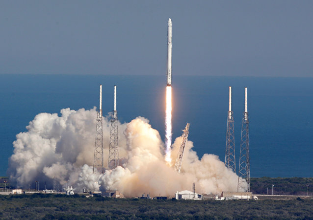 Lancement du Falcon 9 de SpaceX