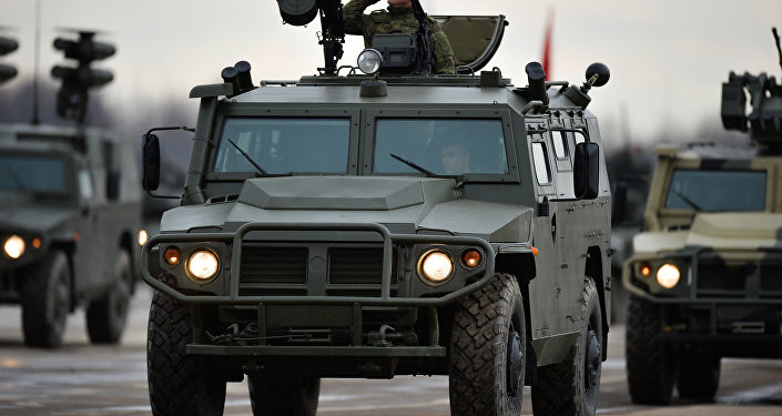 Les véhicules Tigr