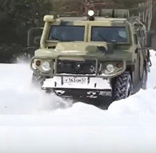 véhicule blindé autonome Tigre
