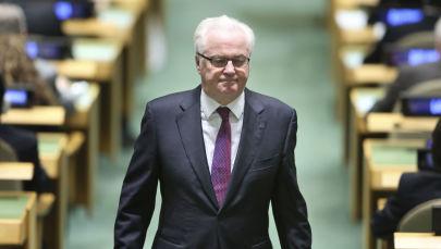 Vitali Tchourkine, le maître de la diplomatie