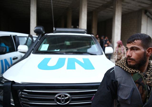 un convoi humanitaire de l'Onu