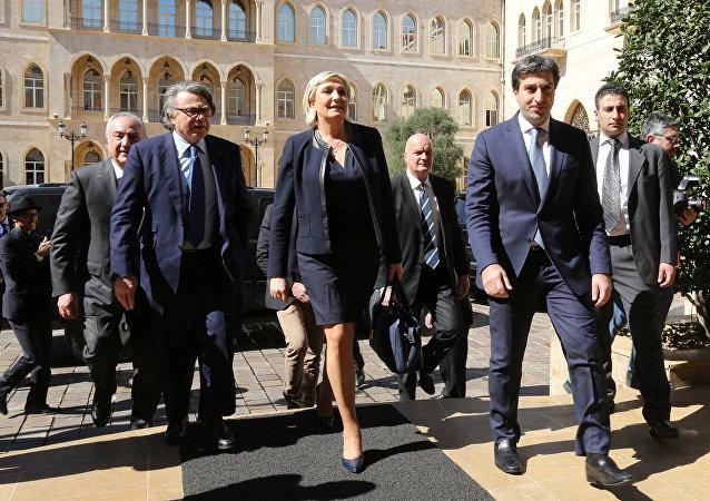 Marine Le Pen à Beyrouth