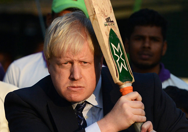 British Foreign Secretary, Boris Johnson