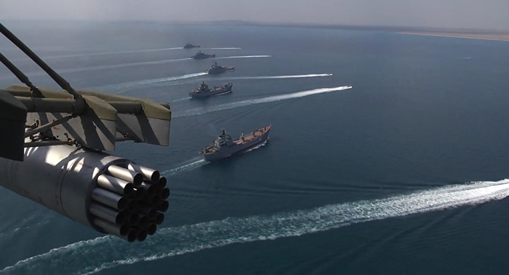 Marine russe: les moments forts des exercices