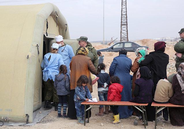 Réfugiés en Syrie