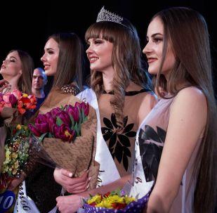 Le concours de beauté « Miss Sébastopol », en Crimée
