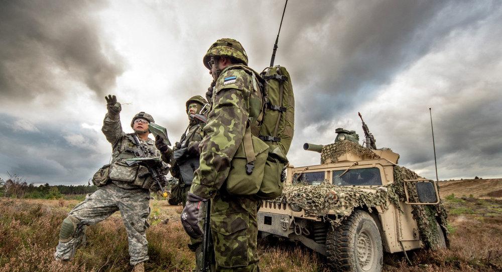 Des manœuvres conjointes Estonie-USA démarrent