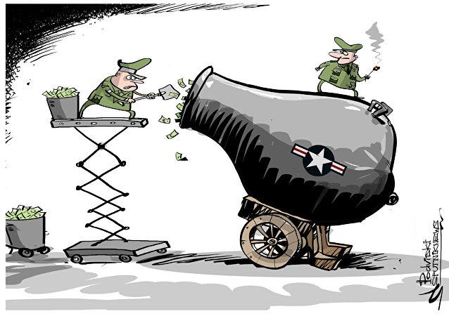 Trump porte l'augmentation des dépenses militaires de 54 à 84 mds USD