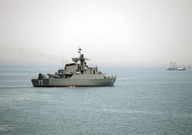 un navire iranien (image d'illustration)