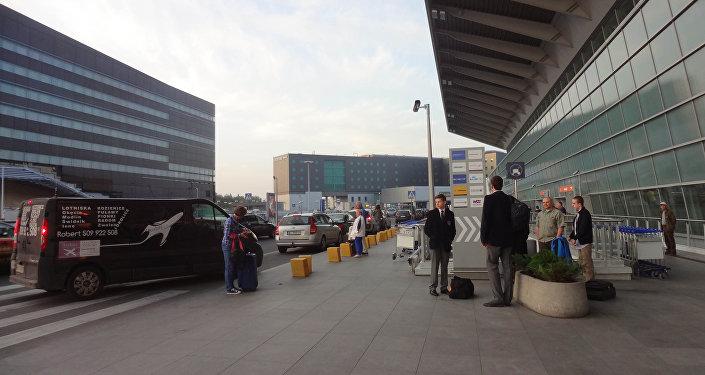 L'aéroport de Varsovie