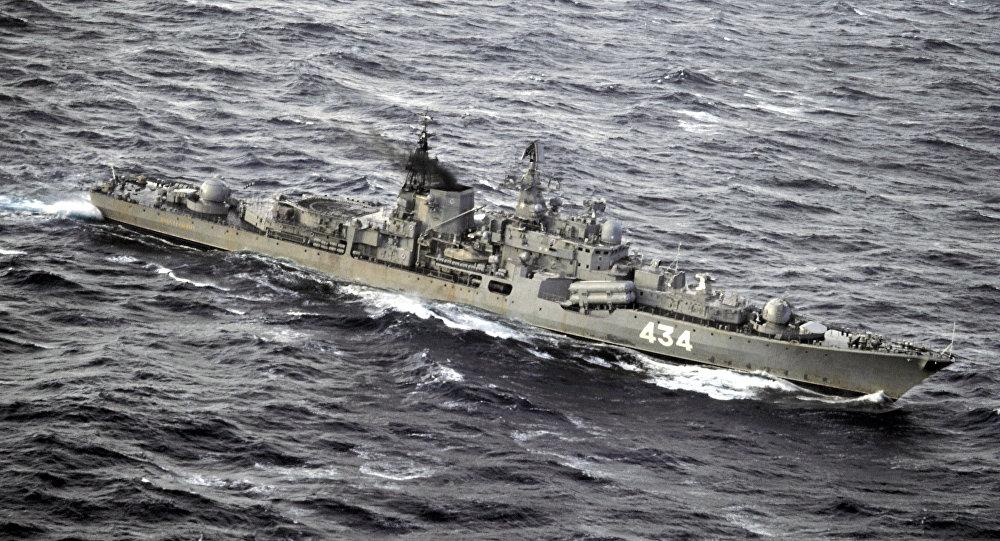 Le destroyer lance-missile Severomorsk