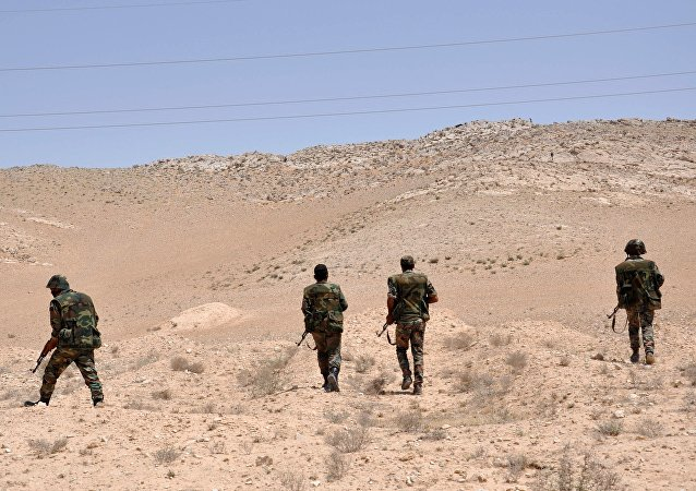 Des soldats de l'armée syrienne