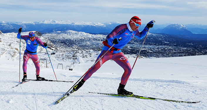 Les skieurs russes