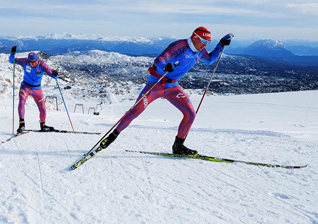 Ski. Le camp d'entraînement de l'équipe nationale
