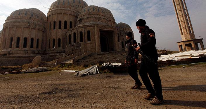 Des agents des services antiterroristes en Irak, Mossoul