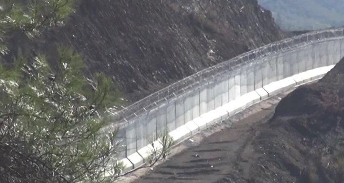 Le mur sur la frontière turco-syrienne