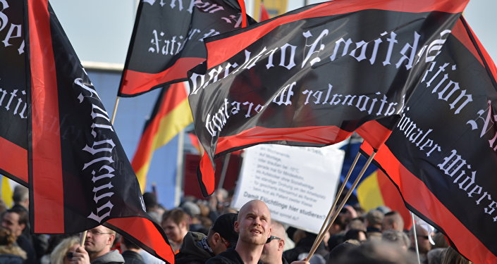 Manifestation à Berlin