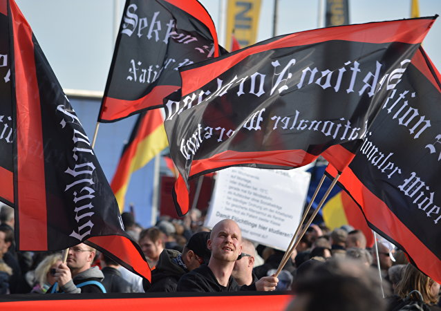 Manifestation à Berlin