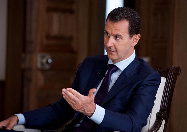 Le président syrien Bachar el-Assad
