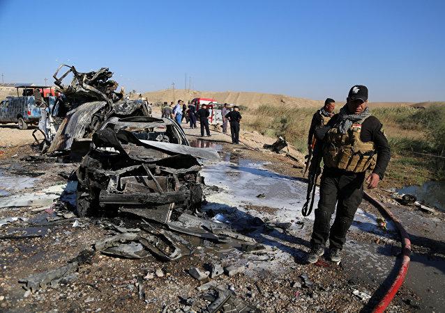 Attentat à Tikrit, Irak
