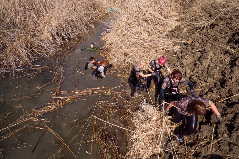 La course extrême «Les durs à cuire 2017» dans la région de Krasnodar