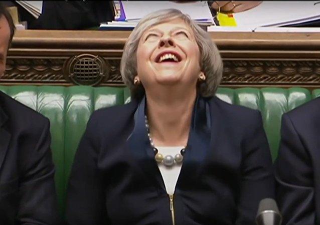 Le Premier ministre britannique Theresa May