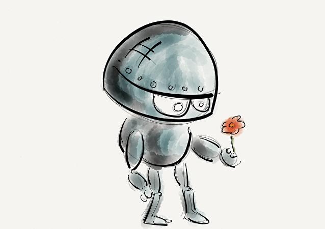 Un robot «timide»