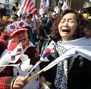 Destitution de la présidente sud-coréenne