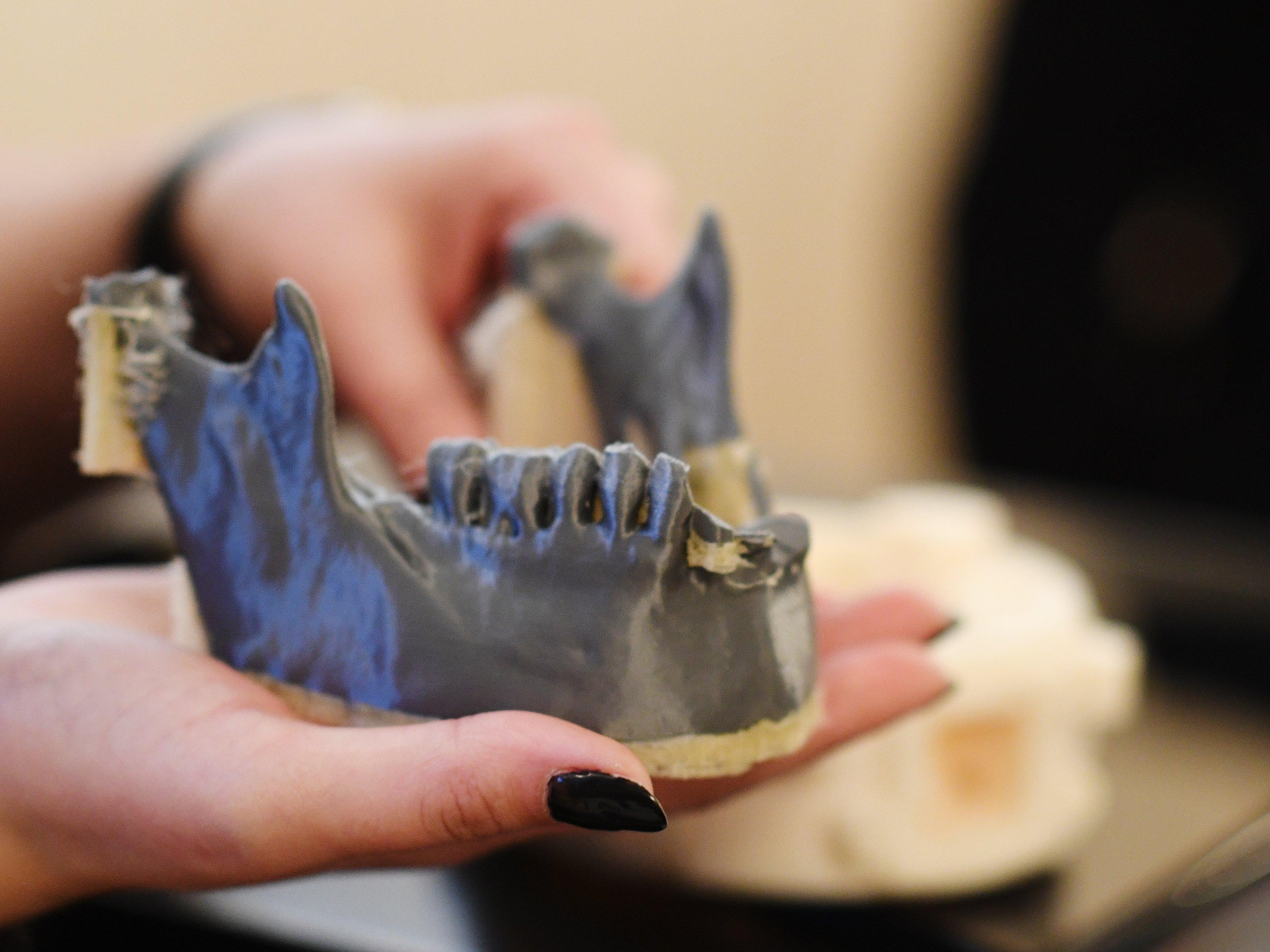 Un échantillon produit par l'imprimante 3D Designer 250