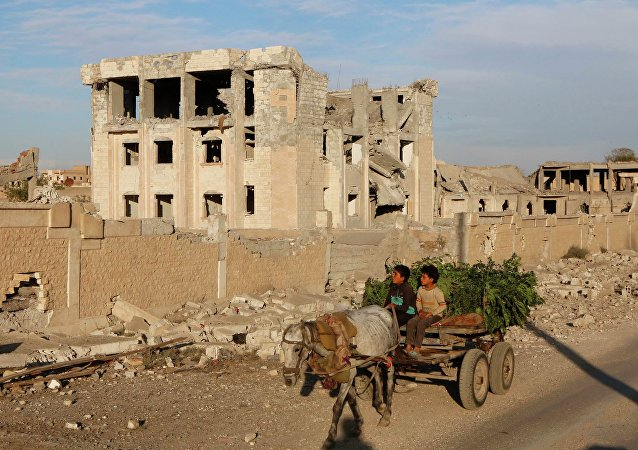 Des habitants de Raqqa