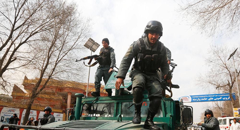 Police à Kaboul