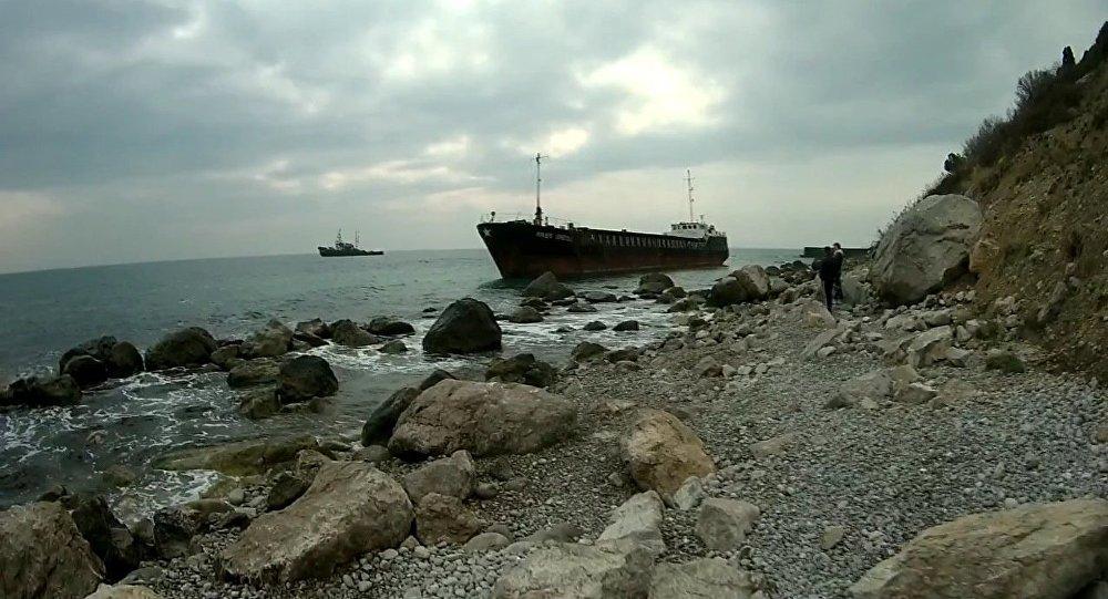 Des marins ukrainiens sauvés par des navires russes près de la Crimée