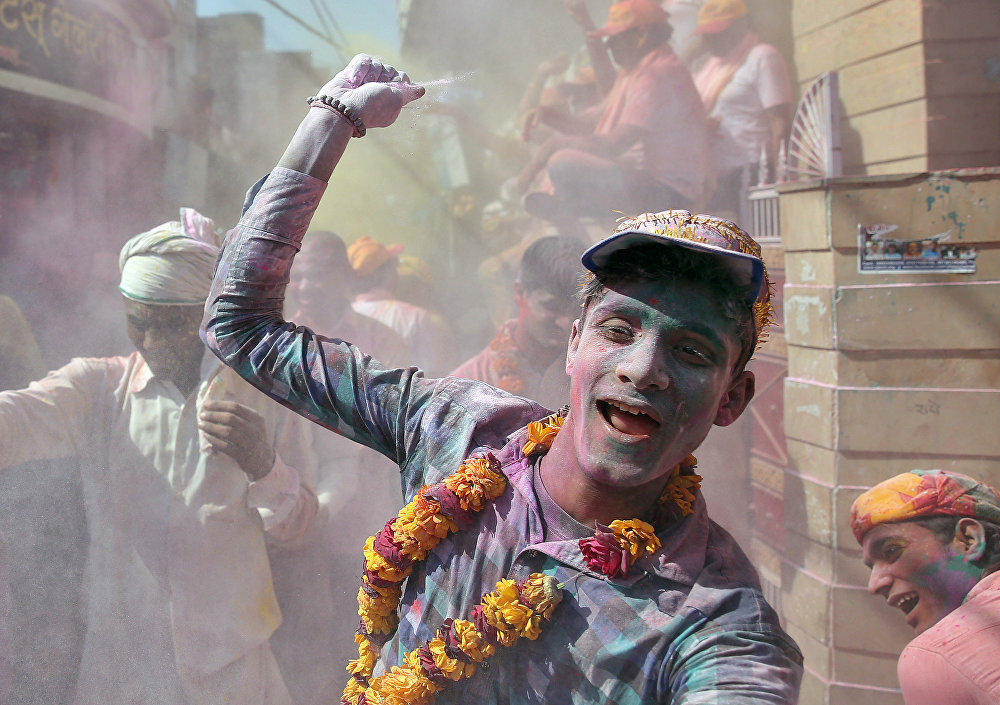 La Holi: une célébration du printemps à l'hindou