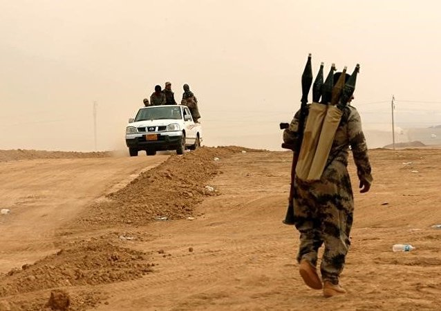 Peshmerga kurdes près de Mossoul