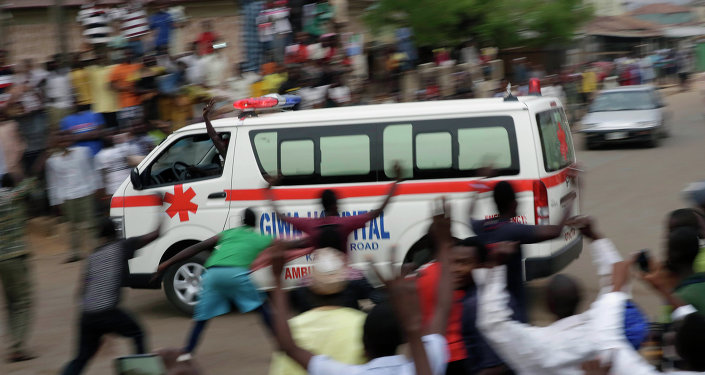 Nigerian ambulance