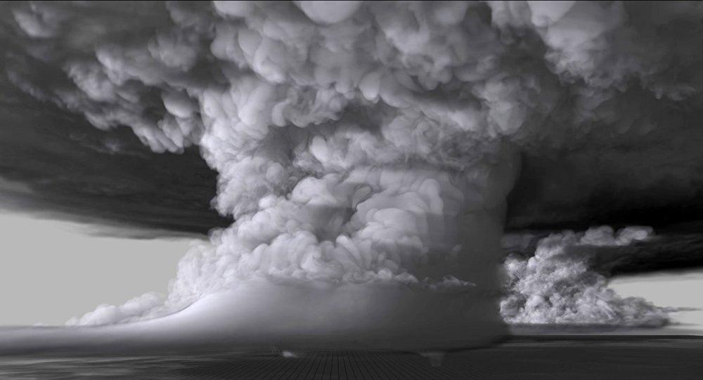 Voyage dans les entrailles d'une tornade avec cette simulation vertigineuse
