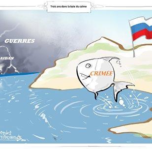La Crimée est redevenue russe à l'issue d'un référendum tenu le 16 mars 2014