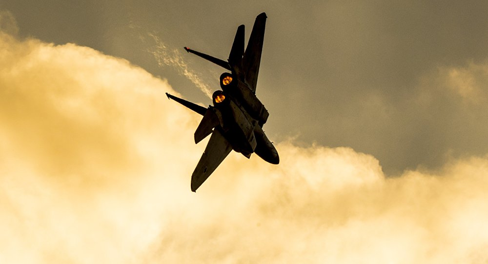 Un avion de combat F-15 israélien