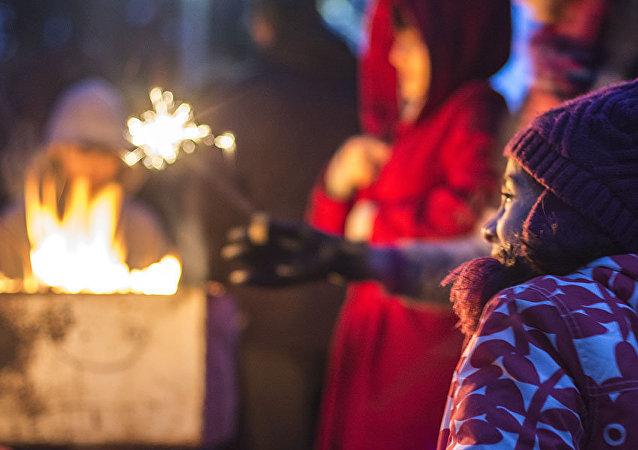 Les Iraniens de Calgary célèbrent la Fête du feu