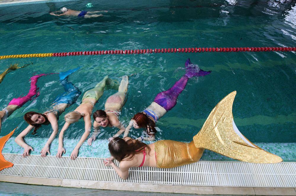 Il ne suffit pas de nager – une vraie sirène doit nager en beauté.