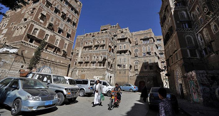 La capitale du Yémen, Sanaa