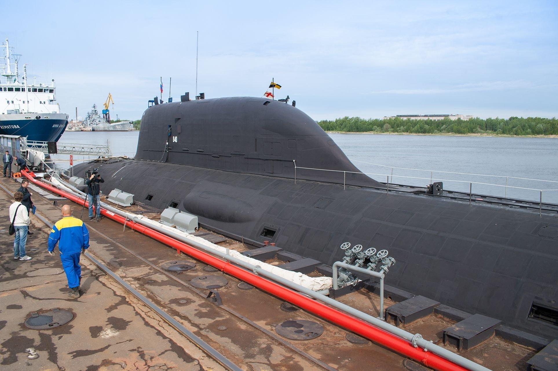 Un sous-marin du projet 885 Iassen