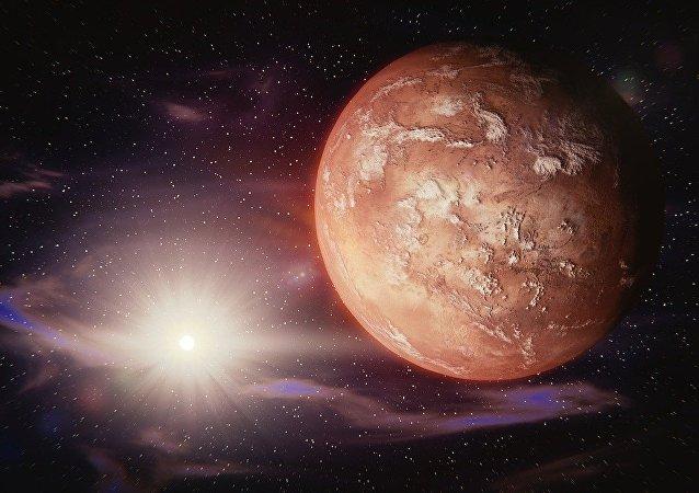 Les tsunamis géants sur Mars seraient-ils d'origine russe?
