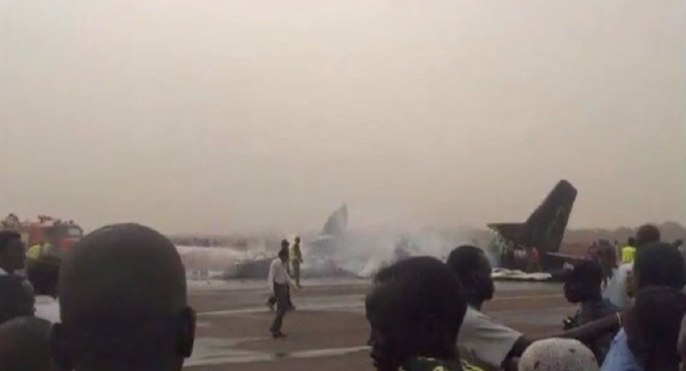 Crash d'avion à l'aéroport de Wau, au Sud-Soudan