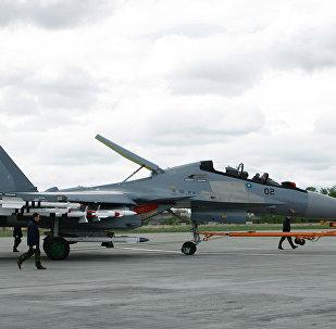 L'avion Su-30 MKM produit pour les forces armées aériennes malaisiennes