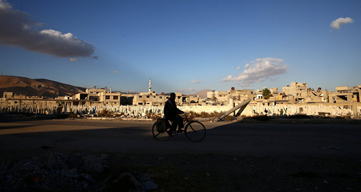 La ville de Douma en Syrie