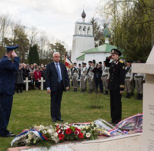 Mort pour la France: un soldat inconnu russe inhumé dans la Marne